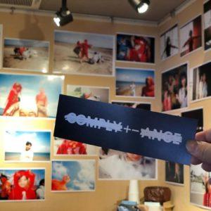 昨日からから上映されている映画 「COMPLY+-ANCE」の写真展を 喫茶ギャ